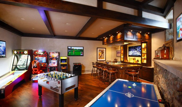 how to have the perfect game room