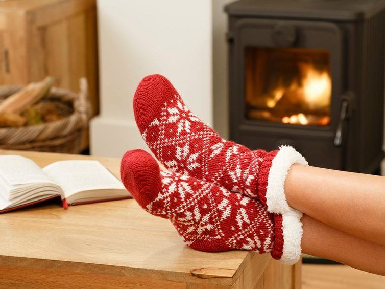 warm and cosy